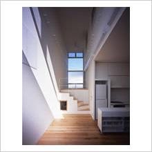 柄沢の住宅/階段