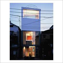 complex J 01(敷地9坪の家:コンクリート)