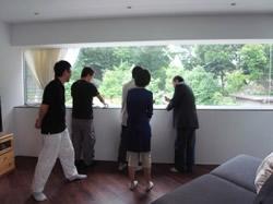 「渡辺篤志の建もの探訪」取材の様子