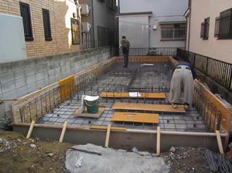 基礎工事写真(2012年11月)