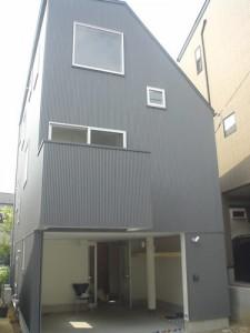 大岡山の狭小住宅/G邸の外観