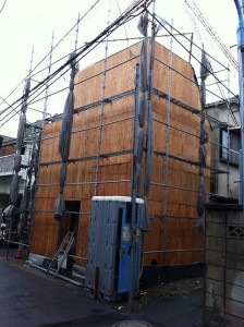 「北新宿の住宅/M邸」外観