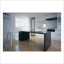 東大和の家/キッチン