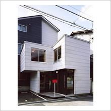 小川建築工房アトリエ(木造2F)外観