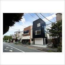 世田谷線の住宅(外観)