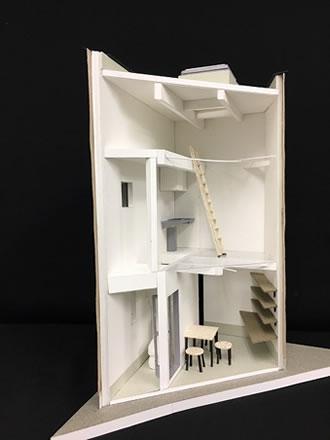 建築模型①
