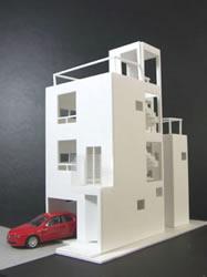 大井の住宅/S邸 建築模型