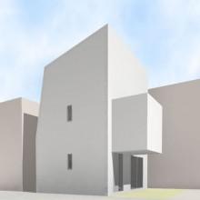荻窪の住宅建築モデル