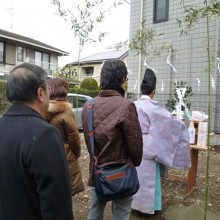 荻窪の住宅地鎮祭