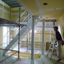 内部工事03-階段