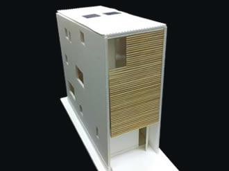 平間の住宅 建築模型