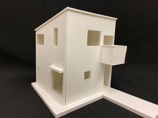 方南の住宅-建築模型