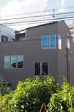 杉並の狭小住宅/スパイラルハウス(建築面積:8坪)