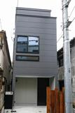 中野坂上の狭小住宅(建築面積:10坪)